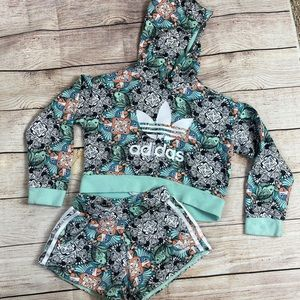 Girls Adidas Outfit sXS